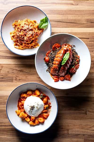 pasta plates