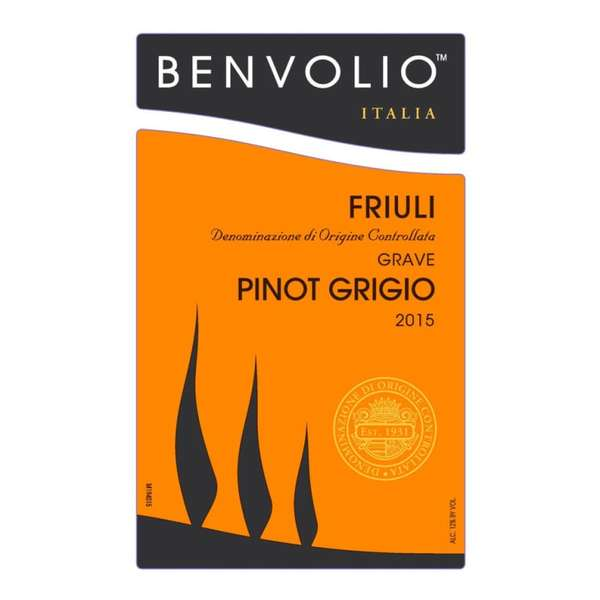 Pinot Grigio, Benvolio Friuli, Italy