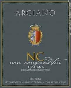 Super Tuscan, Argiano non confunditur NC, Italy