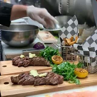 Flat Iron Steak. GF
