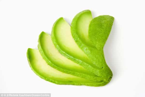 Fresh Sliced Avocados