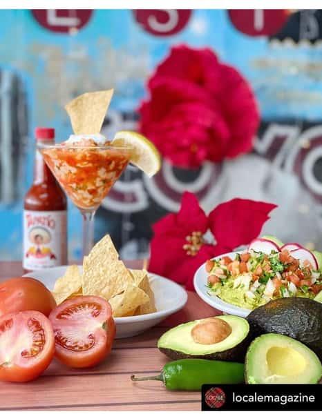 Fresh Baja Ceviche