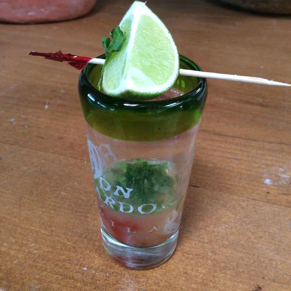 Oysters Shooters