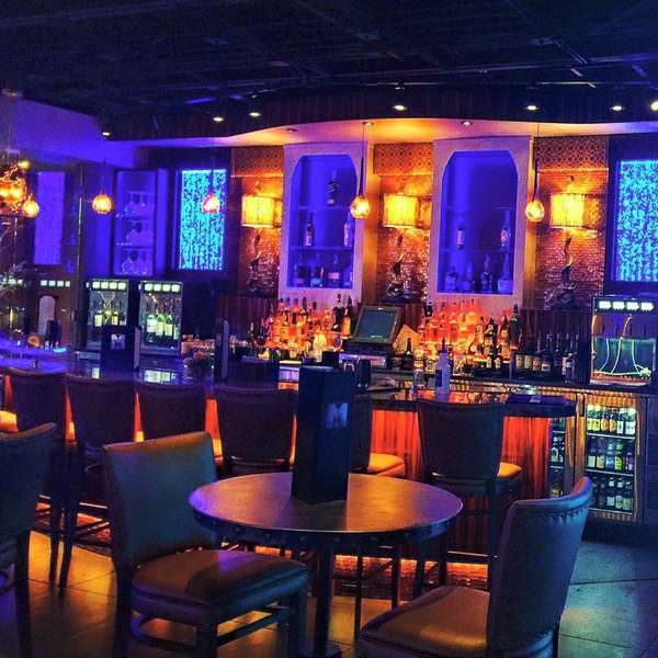 bar and high top tables