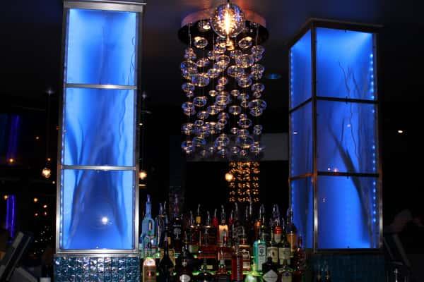 above bar