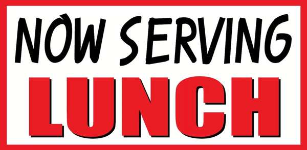 New lunchtime hours!