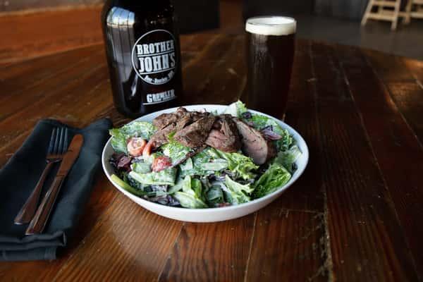 "Grilled ""Dickman's Deli Ugly Steak"" Salad"