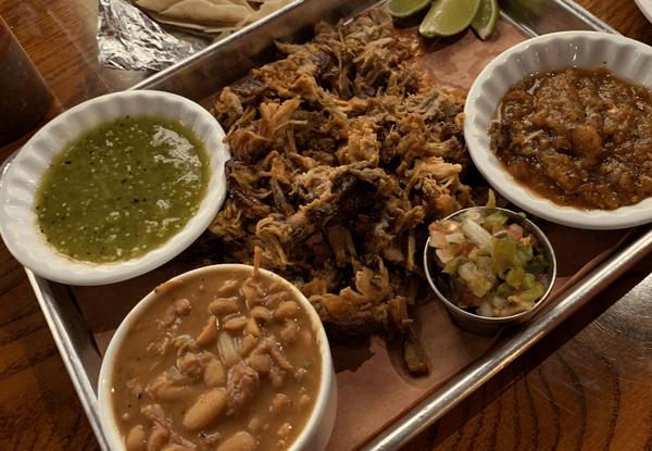 """Smoked Pork """"Carnitas"""" for Two"""