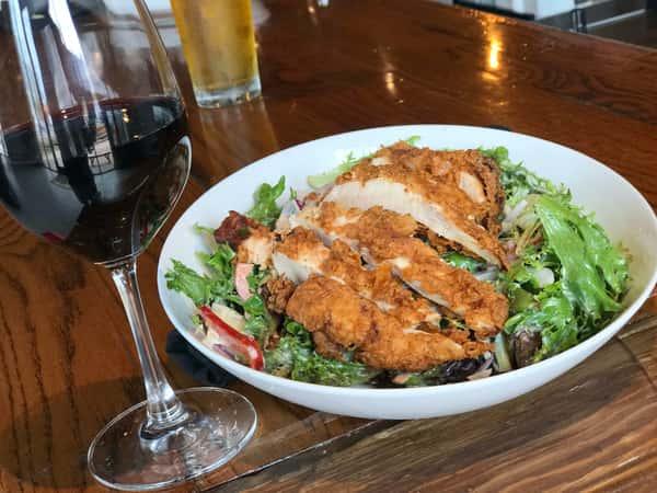 Buttermilk Fried Chicken Salad