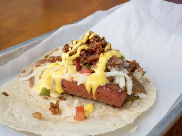 Mini Sonoran Hot Dog