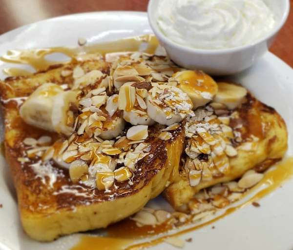 Bananas Foster Style French Toast (2)
