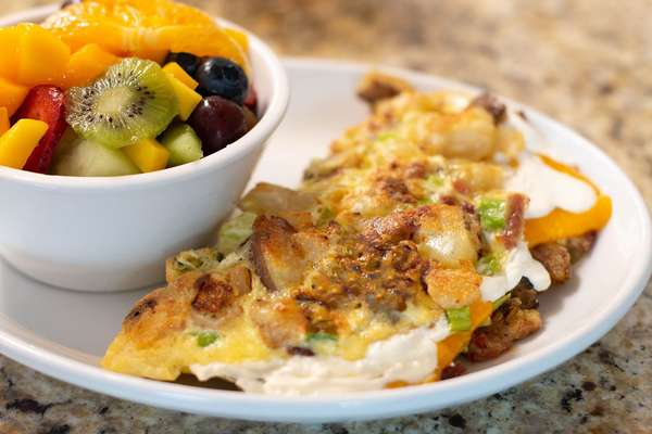 LOADED Potato Omelette