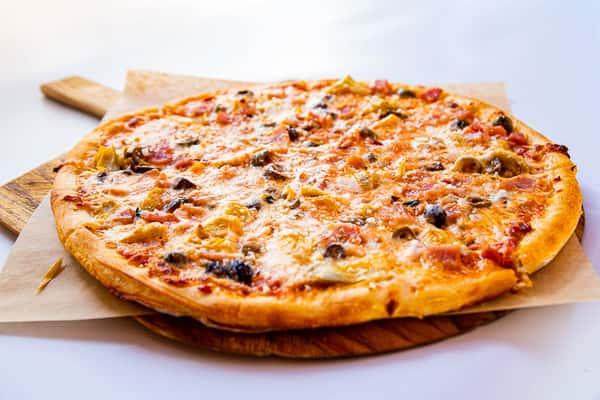 Italian Ham + Olive + Artichoke