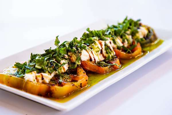 Burrata + Heirloom Tomatoes