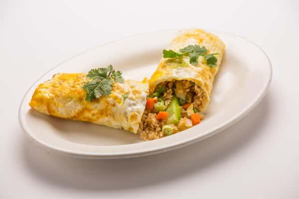 Esane Fried Rice Omlete