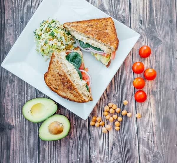 Avocado & Hummus Sandwich