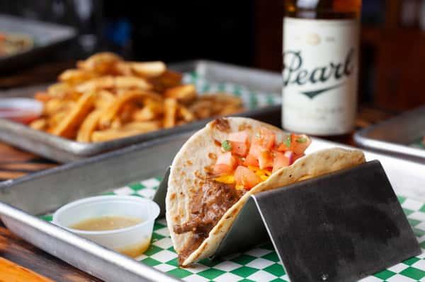 Carne Guisada Taco