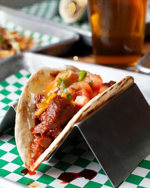 Pork Advocado Taco