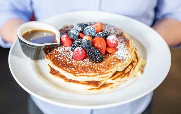 3 Buttermilk Pancakes