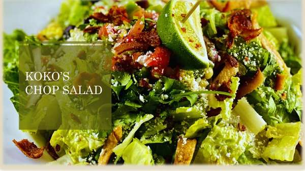 Koko's Chopped Salad (GF)