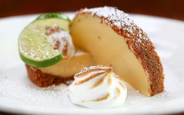 White Chocolate-Macadamia Key Lime Tart