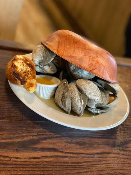 Steamed Native Clams