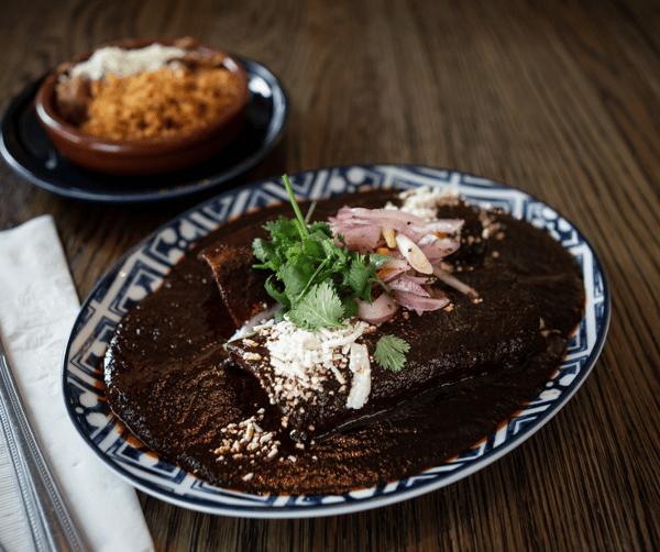 Enchilada de Queso Oaxaca