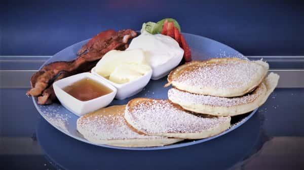 Pancakes + Bacon