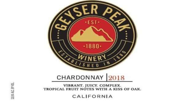Chardonnay, Geyser Peak