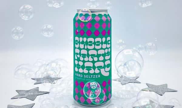 Modern Times 'Bubble Party' Grapefruit Hard Seltzer