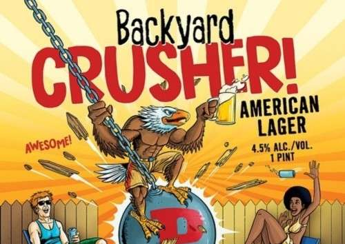 Backyard Crusher 'American Lager'