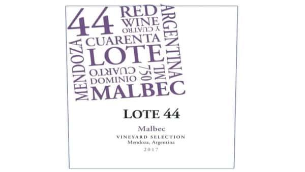 Malbec, Lote 44