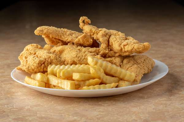 catfish and fries