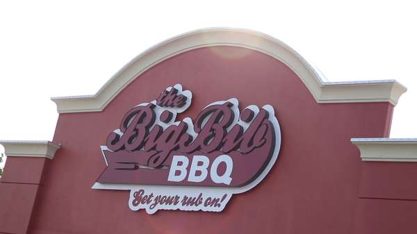 Storefront of the Big Bib BBQ