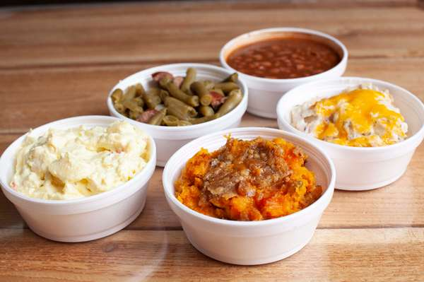 Multiple side dishes