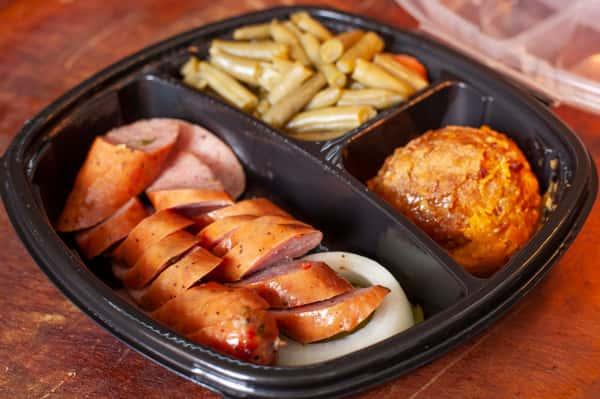Jalapeño Sausage Plate