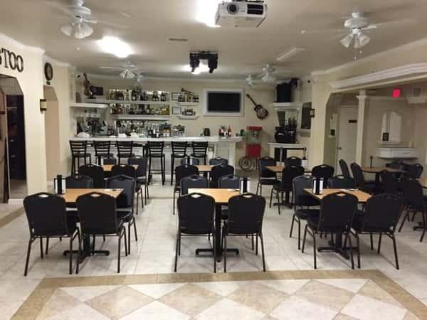 Event space at The Big Bib BBQ