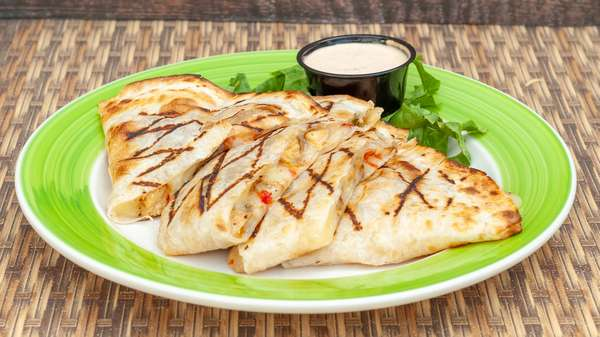 Grilled Carribbean Quesadilla