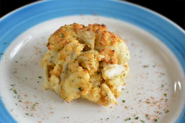 Crab Cake Entree
