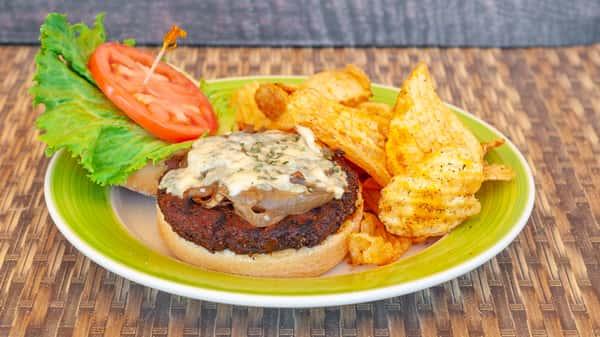 BK And Blue Burger