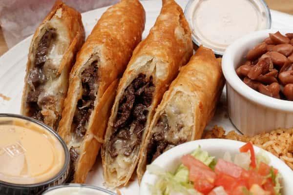 quesadilla rolls dinner