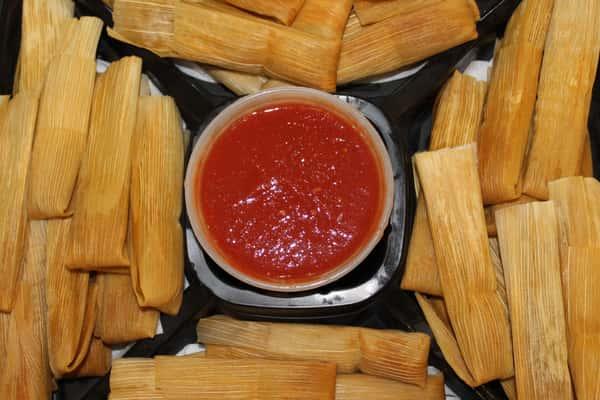 tamales platter