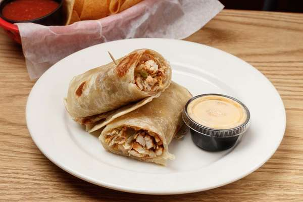 healthy living chicken wrap