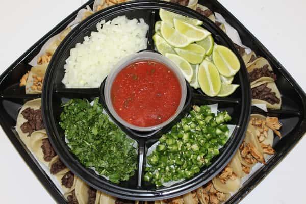 street tacos platter