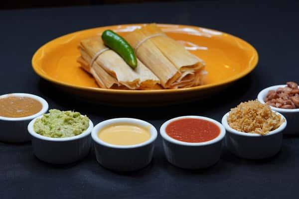 tamales plate