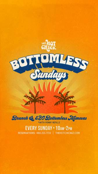 Best Bottomless Mimosa Bar in Old Town Scottsdale