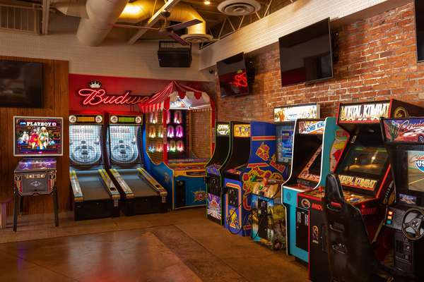 video arcade games and skeeball