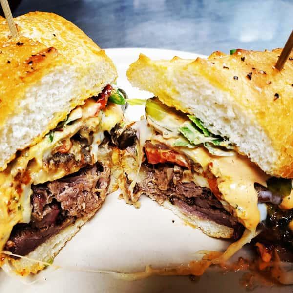 Brisket or Tritip Sandwich