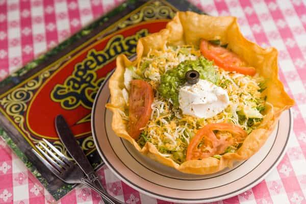 Sagebrush Tostada Salad