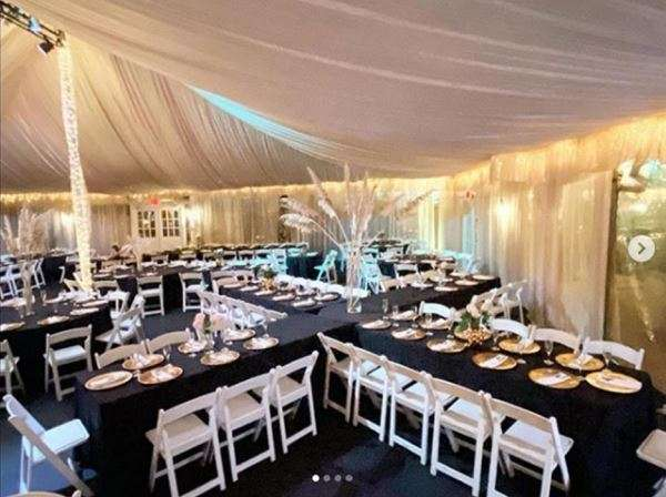 Main Party Tent